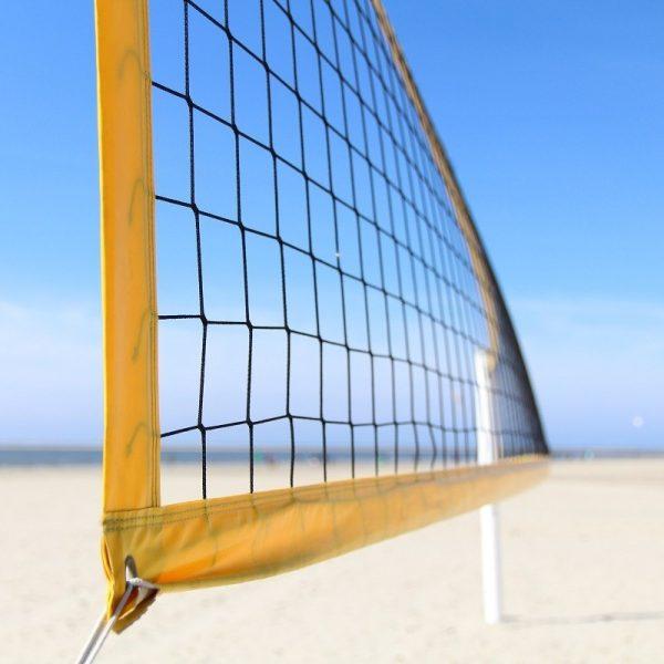 Strandröplabda háló